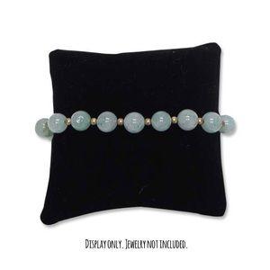 Black Jewelry Velvet Display Pillow (pack of 3)